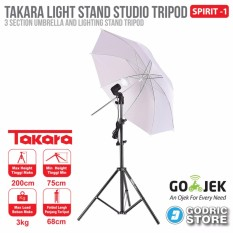 Takara Spirit-1 Folded Light Stand Payung Umbrella Studio Spirit 1
