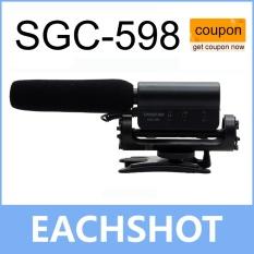 Promo Takstar Sgc 598 Shockproof Hotshoe Condenser Recording Microphone Mic For Interview Movie Pickup For Dv Dslr Intl