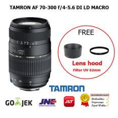 Beli Tamron Lens Af 70 300 F4 5 6 Di Ld Macro For Canon Slr 1300D 700D 70D Cicilan
