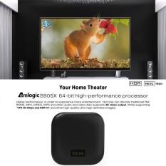 TAPI Android 6.0 TV Box Amlogic S905X Quad Core 64Bit H.265 UHD 4K VP9 3D Mini PC WiFi AirPlay Miracast DLNA EU Plug