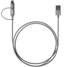 Promo Targus Aluminium Series 2 In 1 Lightning Micro Usb Cable Black Akhir Tahun