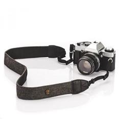 Tarion Kamera Bahu Leher Tali Ikat Pinggang Klasik untuk Semua Kamera DSLR Nikon Canon Sony Pentax Klasik Putih dan Hitam Menenun-Intl