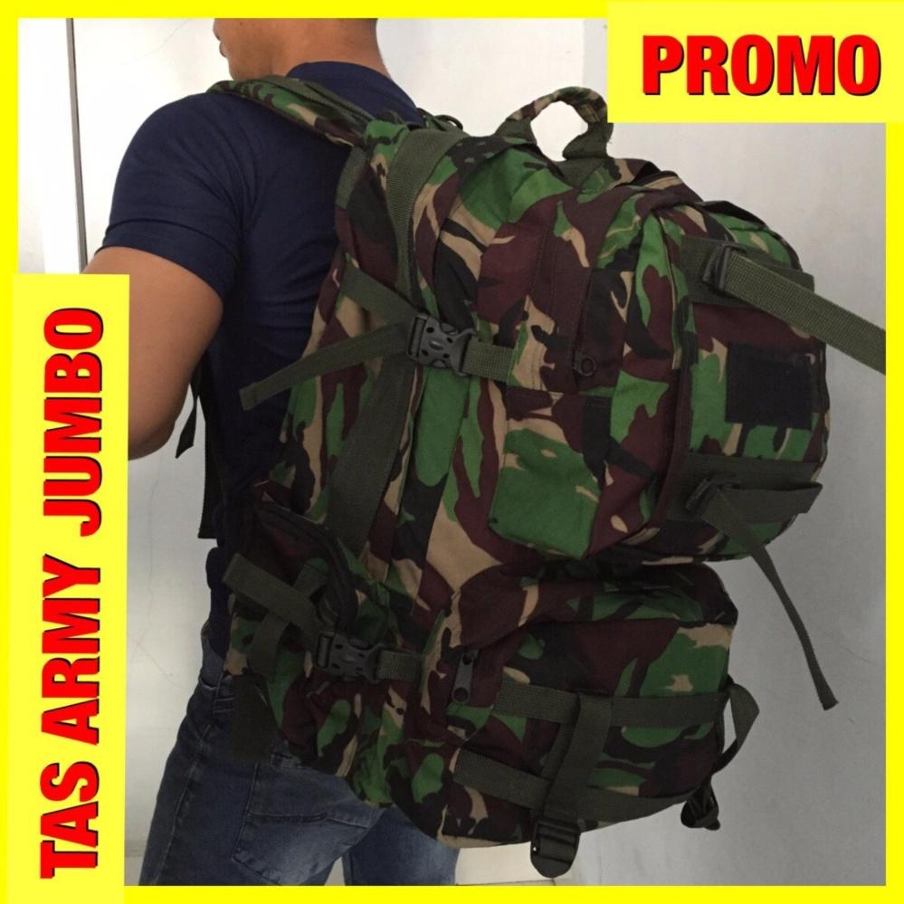 Tas Army Tactical Loreng Ransel Jumbo Z0155A