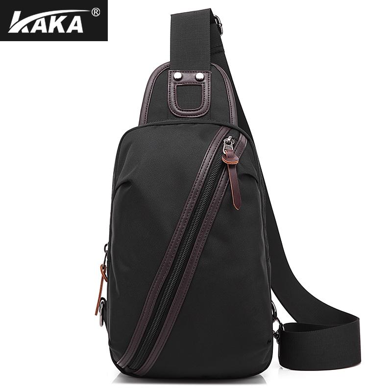 Model baru tas dada pria kasual dan modis tas bahu tunggal Olah Raga Tas  Punggung Kecil 59e5a6286f