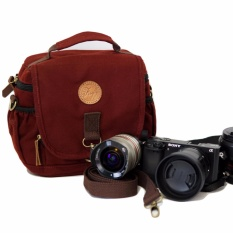 Promo Tas Kamera Firefly Ivers Maroon Camera Bag Akhir Tahun
