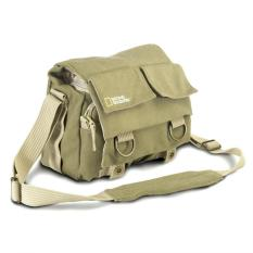 Spek Tas Kamera Selempang Dslr National Geographic Canvas Bag Ng2345 Khaki Oem