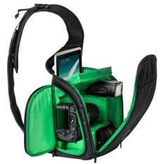 Spesifikasi Tas Kamera Slr Sling Camera Dslr Backpack Bag Green Paling Bagus