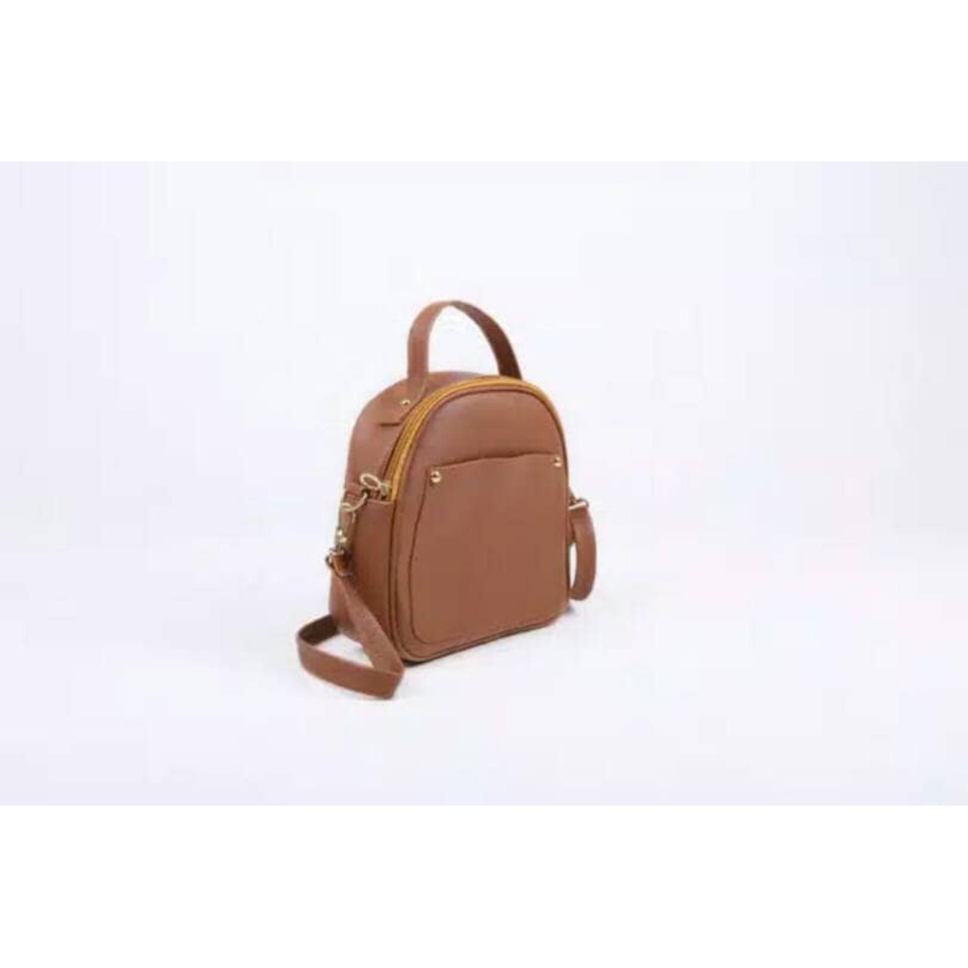 Beli Barang Tas Mini Slempang Wanita Tas Backpack Mini Wanita Cah 0174 Online