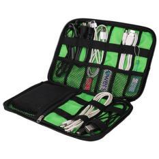 Tas Organizer Gadget Bahan Nylon Waterproof Multifungsi Smartphone Bag Anti Air