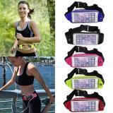 Spesifikasi Tas Pinggang Tahan Air 2 Sisi 2 Sides Waterproof Sport Waist Bag For Handphone Android Biru Muda Beserta Harganya