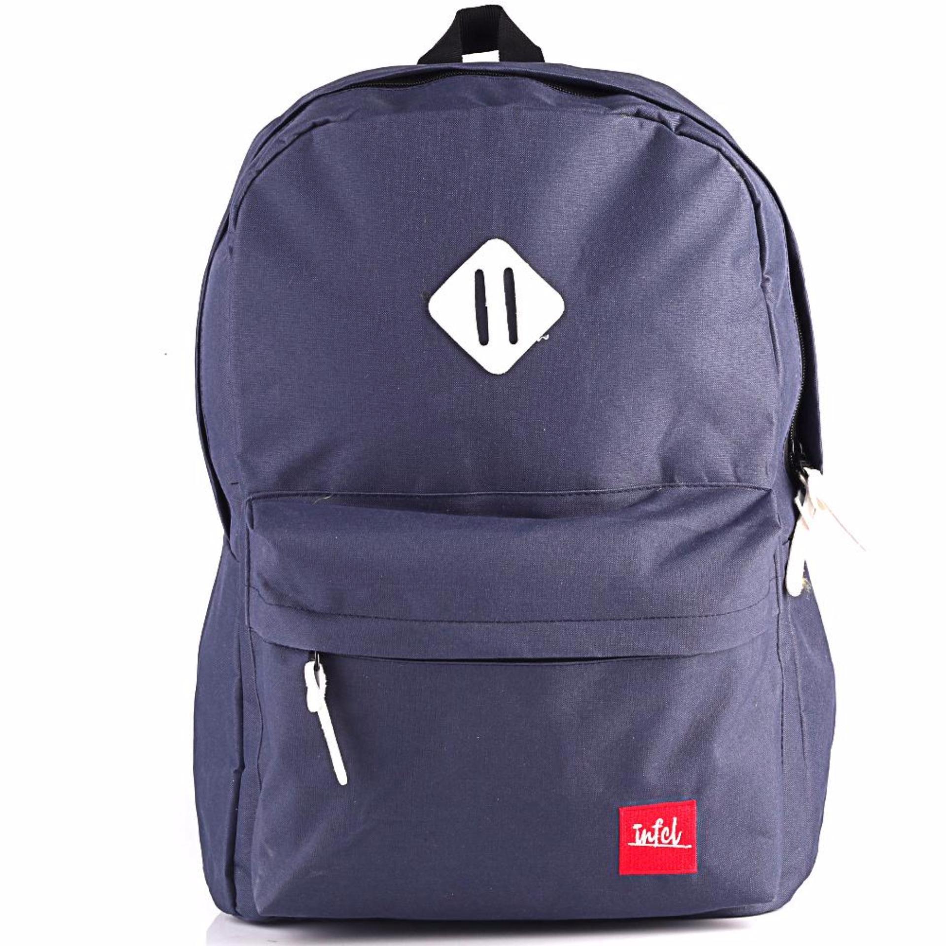Promo Tas Ransel / Backpack / laptop Pria Wanita biru Inficlo SRU 289 FashionIDR237400. Rp