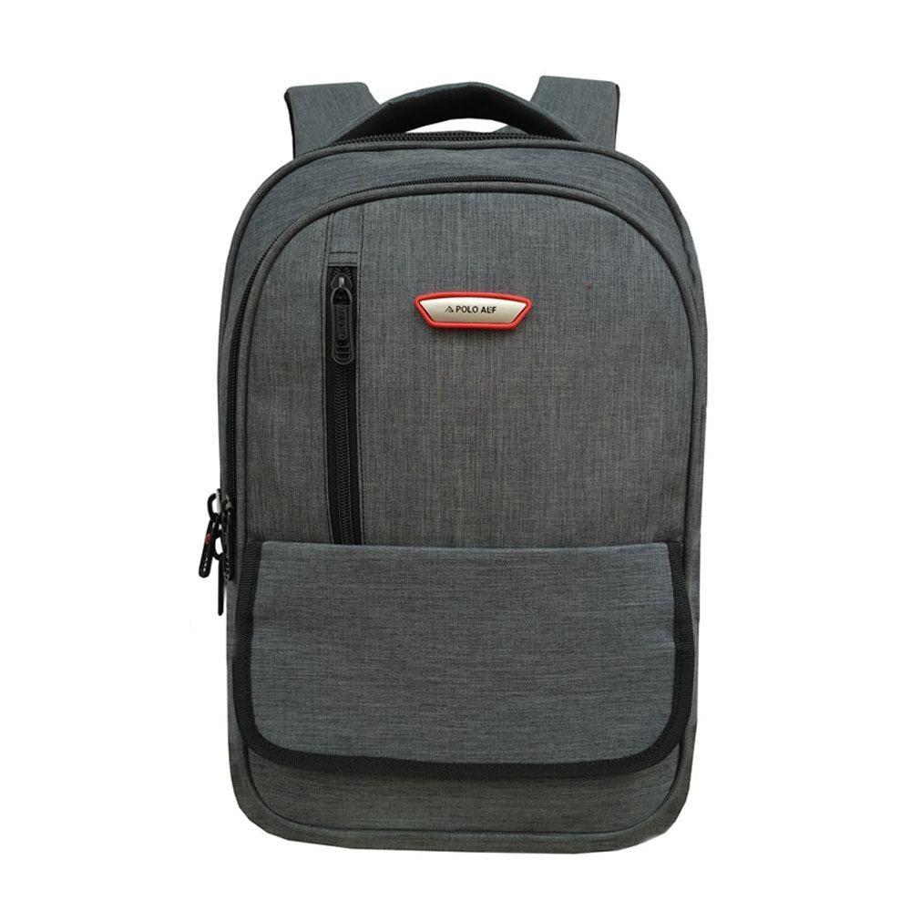 Tas Ransel Backpack Tas sekolah Polo ALF Korean style Import Vintage Design  17 Inchi 1501- 3c524b4804