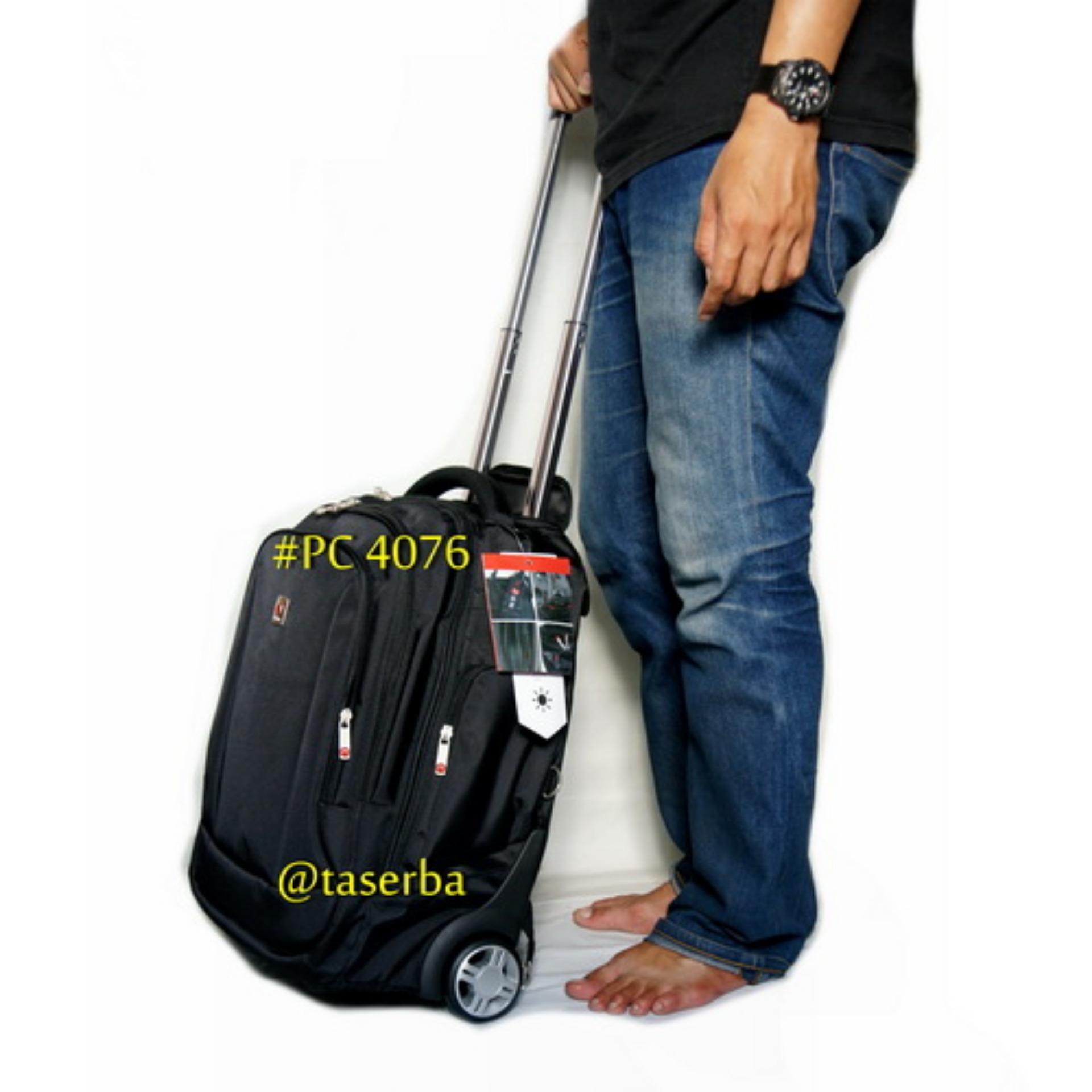 koper polo classic Tas Ransel Trolly Original Polo Classic Travel Berkualitas Backpack Trolley PC 4076 Murah