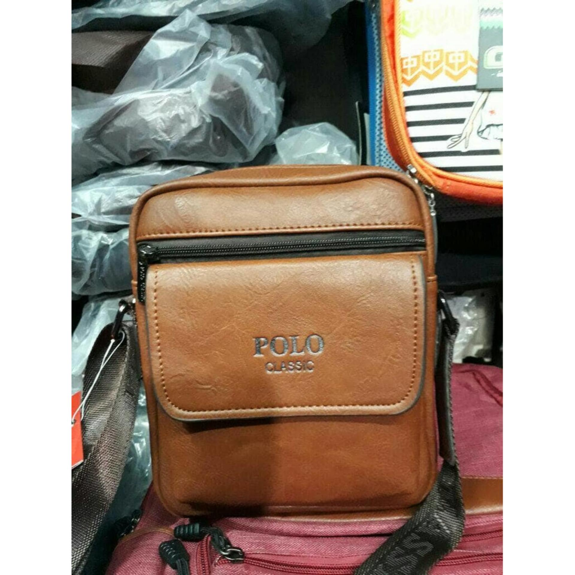 Review Toko Tas Selempang Kulit Polo Classic 99841 Original Import