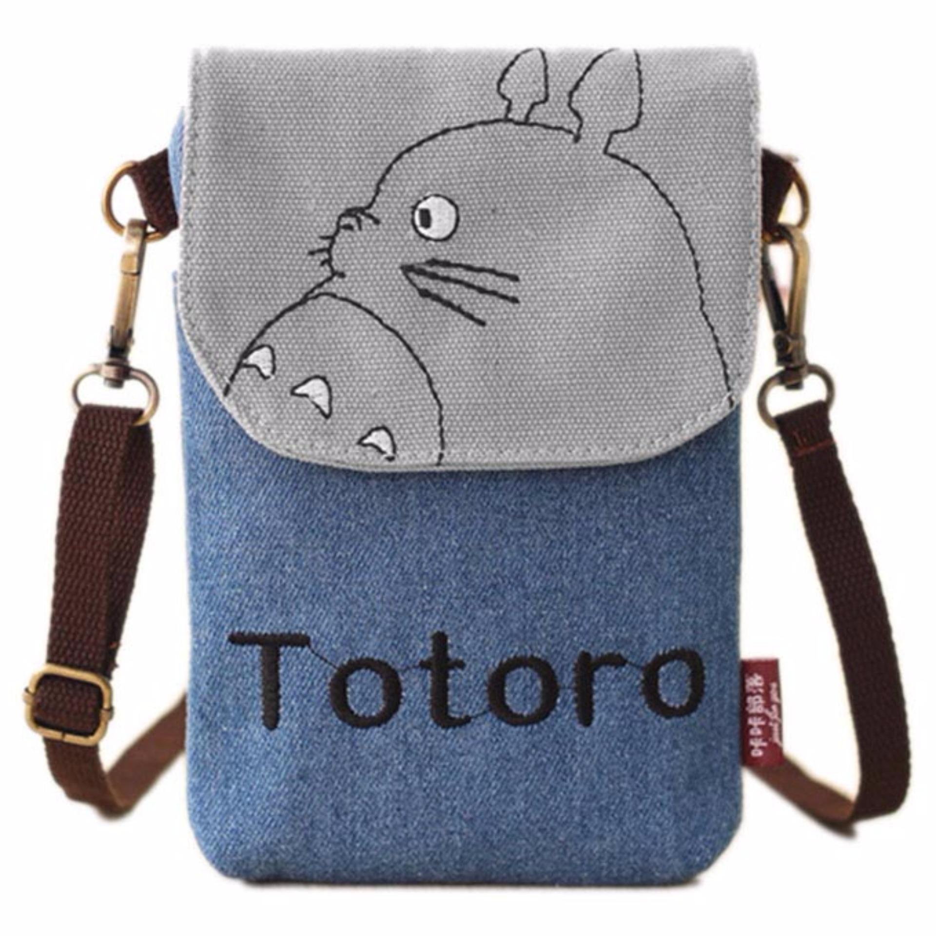 Promo Toko Tas Selempang Model Totoro Blue