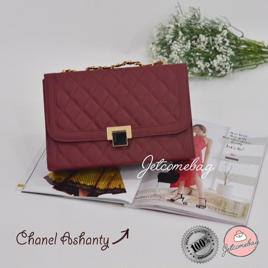 Tas Wanita Termurah Selempang Chanel Ashanty Slingbag Best Seller Aneka Warna - JETCOMEBAG