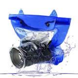 Beli Tas Waterproof Universal Untuk Kamera Dslr Blue Universal Dengan Harga Terjangkau