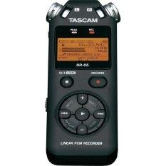 Jual Tascam Recorder Dr 05 Portable Handheld Hitam Termurah