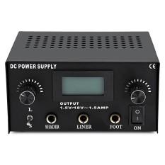 Harga Tattoo Power Supply Digital Lcd Dual Capacity Machine Intl Yg Bagus