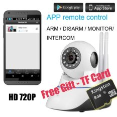 TBI 2016 WiFi Camera - BEST Quality PRO HD 720P - IP Security, Pan/Tilt Smart Video Baby Monitor 2016 - NEW P2P Wireless Digital Cameras CCTV System for Home...