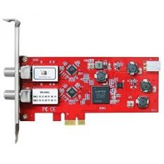 TBS 6902 Dual Satellite Hd Low-Profile Pcie Tv Tuner Card Dvb-S2