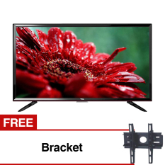 TCL 32 inch LED HDTV - Hitam (model: L32D2900) Gratis Bracket