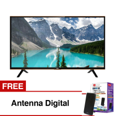 Ongkos Kirim Tcl 40 Inch Hd Ready Smart Led Tv Hitam Model 40S4900 Di Indonesia