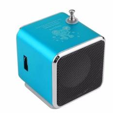 Td-V26 Radio Fm Kotak Musik Dengan Mp3 Fungsi Pemutar Microsd Pengeras Suara Usb-Internasional By Diotem.