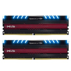 Team Delta DDR4 16GB (8GB X 2 ) PC 2400 - Biru