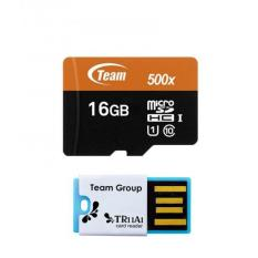 Harga Team Micro Sd 16Gb Uhs I Card Reader Set Baru Murah