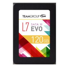 Team SSD L7 EVO 120 GB - Hitam