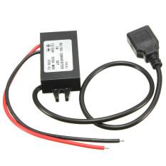 Beli Teamtop Mobil Dc 12 V 24 V Ke Adaptor 5 V 3 Amp 15 Watt Konverter Pengatur Mundur Untuk Iphone Ipad Internasional Online Murah