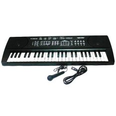 Techno Keyboard T-5000 - Hitam By Multiplus Store.