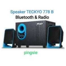 Jual Teckyo 778 B C Speaker Bluetooth Bluetoot Bluetot Multimedia Aktip Subwofer 2 1 Asli Original Murah Dki Jakarta