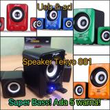 Harga Teckyo 881 Usb Speaker Aktip Mp3 Multimedia Audio Super Bass Subwoofer Origin