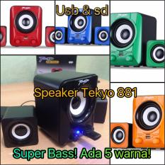 Beli Teckyo 881 Usb Speaker Aktip Mp3 Multimedia Audio Super Bass Subwoofer Teckyo Dengan Harga Terjangkau