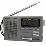 Review Toko Tecsun Dr 920C Radio Fm Mw Thomson 12 Band Jam Digital Alarm Pesawat Penerima Radio Fm And Lampu Latar Abu Abu Online