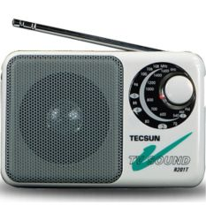 Harga Tecsun Multi Band Fm Am And Audio Channel Tv Putih Radio Penerima R 201T Murah