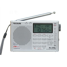 Spesifikasi Tecsun Pl 310Et Full Band Radio Demodulator Digital Fm Am Sw Lw Stereo Radio Silver Baru