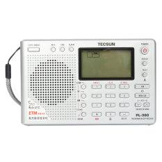 Jual Tecsun Pl 380 Dsp Pll Fm Mw Sw Lw Digital Stereo Radio Dunia Band Receiver New Silver Internasional Oem Murah
