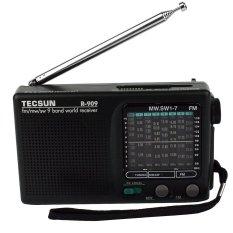 Harga Tecsun R 909 Fm Am Sw Band Dunia Radio Portabel Receiver Radio Fm Dx Penerima Sensitivitas Lokal Oem