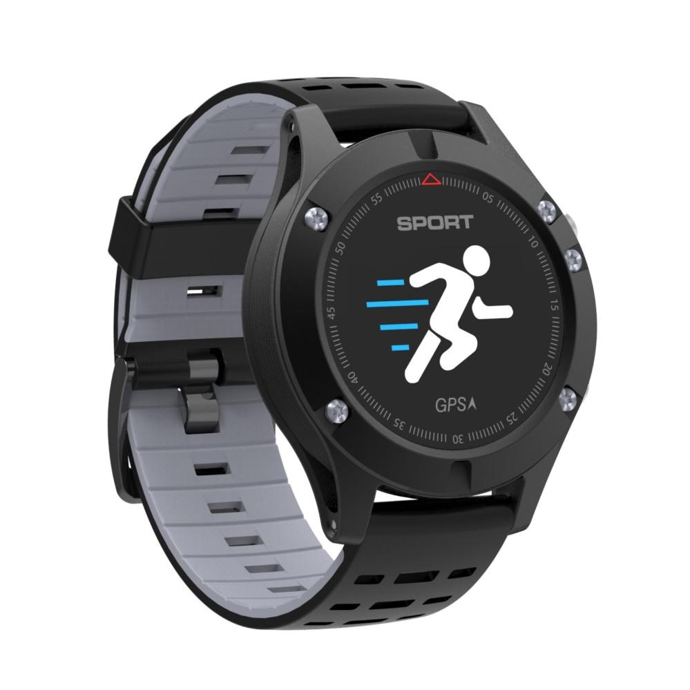 Teekeer 2018 Baru No.1 F5 GPS Pintar Jam Tangan Altimeter Barometer Termometer Bluetooth 4.0 Pintar Jam Tangan Wearable Perangkat untuk IOS Android -Internasional