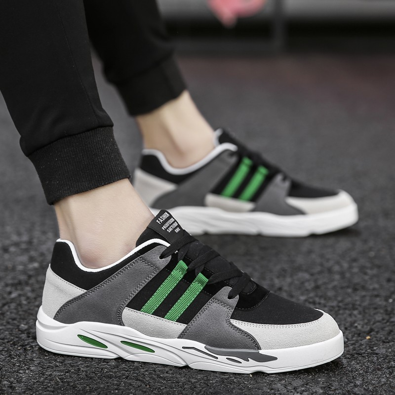 Review Teenage Boys Canvas Shoes Men S Casual Shoes Trend Of Korean Junior High Sch**l Students All Match Flat Shoes Intl Oem