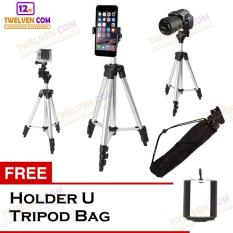 Weifeng 3110 Tripod Stainless With 3X Extend Leg Suite For Smartphone Camera Black Free Holder U Tripod Bag Di Dki Jakarta