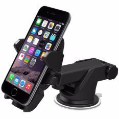 Teiton Car Holder Smartphone GPS Long Neck - Hitam