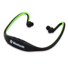 Teiton USB Sport Neck Wireless Bluetooth Headset - Hitam Hijau