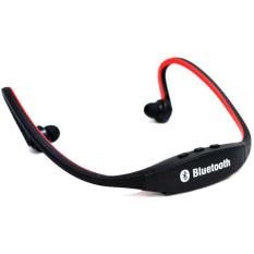 Teiton USB Sport Neck Wireless Bluetooth Headset - Hitam-Merah