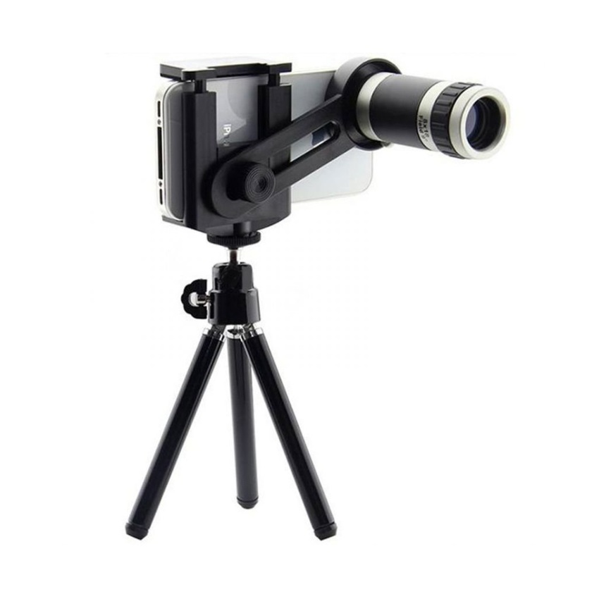 Toko Tele Lens Quality Telescope 8X Zoom Black Yang Bisa Kredit