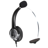 Kualitas Kebisingan Membatalkan Mikrofon Telepon Rj11 Konektor Headset Call Center Kantor Baru Oem