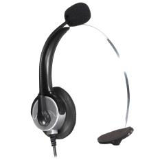 Harga Kebisingan Membatalkan Mikrofon Telepon Rj11 Konektor Headset Call Center Kantor Baru Oem